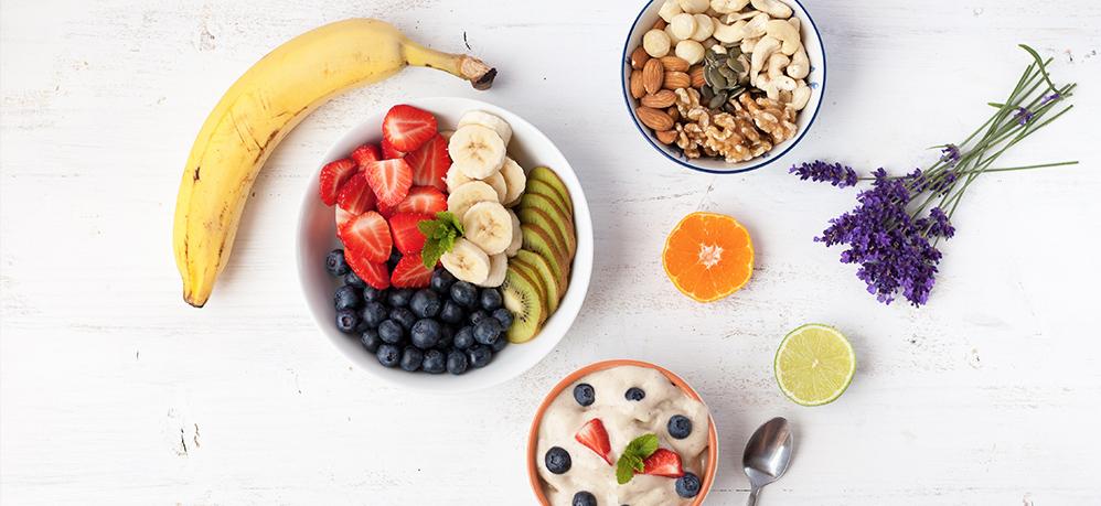 Ejemplo de dieta con alimentos para frenar la diarrea